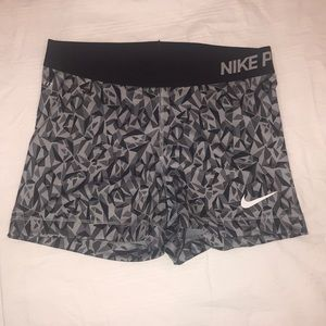 Nike Pro women's workout shorts